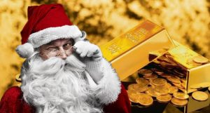 gold stocks santa claus rally