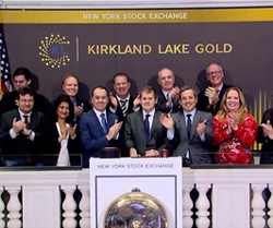 gold stocks to buy sell Kirkland Lake Gold (KL)