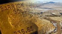 barrick gold stock