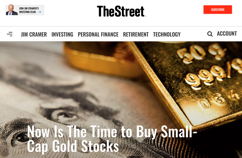 the street gold stocks to buy